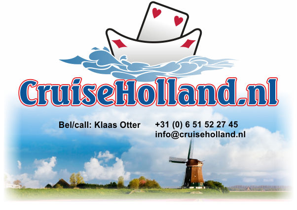 Make your cycle or boat cruise in Holland, Amsterdam, Delft, Volendam and Dutch delta works with CruiseHolland